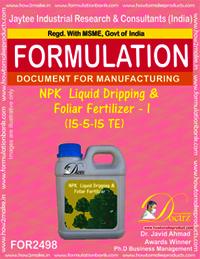 NPK Liquid Dripping & Foliar Fertilizer I