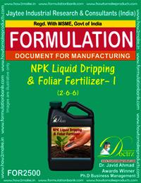NPK Liquid Dripping & Foliar Fertilizer – I