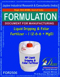 NPK-Liquid-Dripping foliar Fertilizer Formula