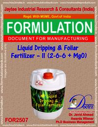 NPK-Liquid-Dripping foliar Fertilizer Formula II