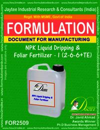 NPK Liquid Dripping and Foliar Fertilizer-I