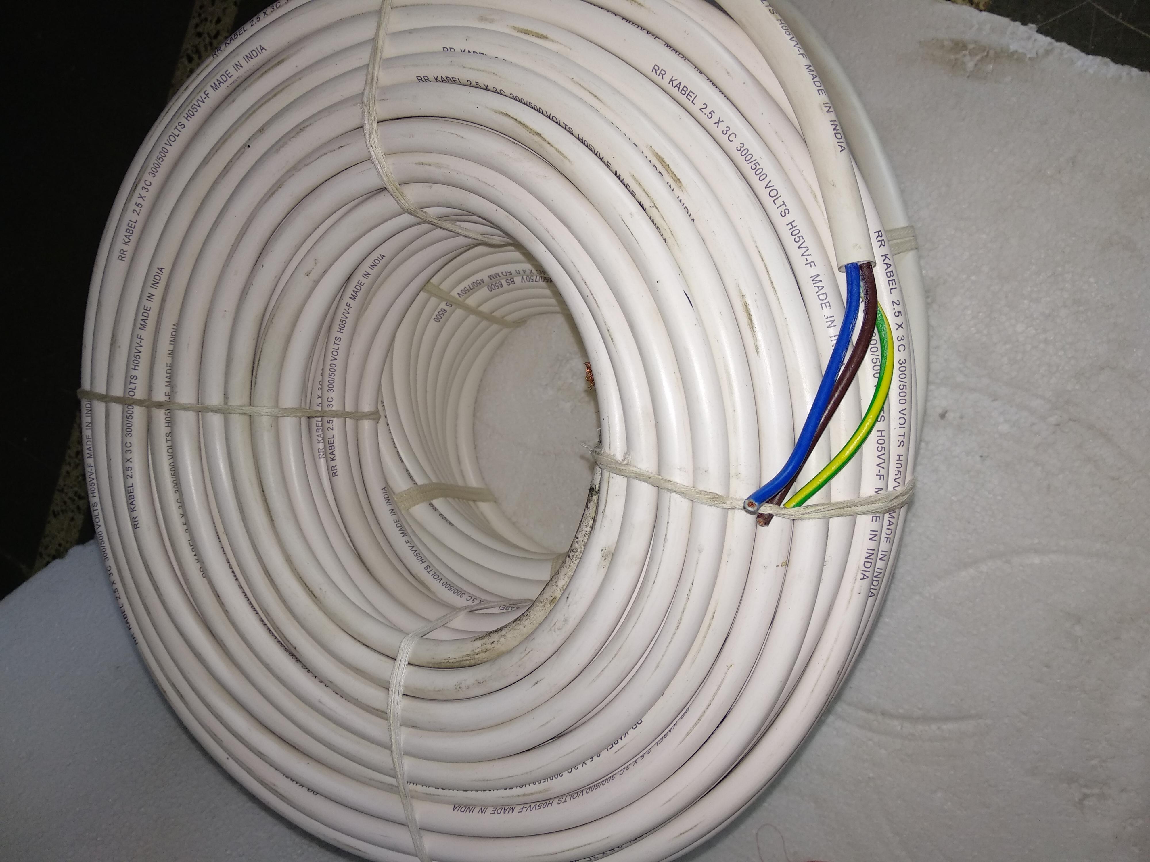 Multi Core Copper Cables
