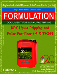 NPK Liquid Dripping and Foliar Fertilizer (4-8-7+ 24)