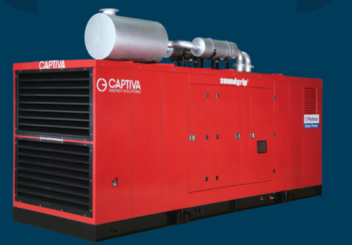 PERKINS Genset (Manufactured by Captiva)