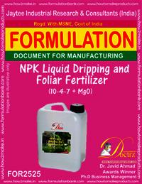 NPK Liquid Dripping & Foliar Fertilizer (10-4-7+Mgo)