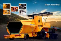 Asphalt road paver machinery