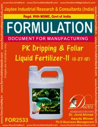 PK Dripping & Foliar Fertilizer-II (0-27-18)