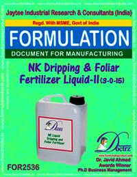 NK Dripping & Foliar Fertilizer Liquid-II (3-0-15)