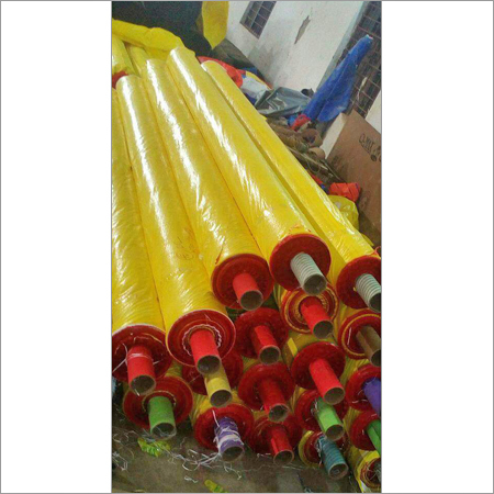 Yellow Red Tarpaulin