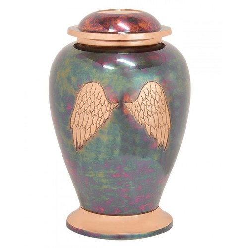 Angle Wings Cremation Urn