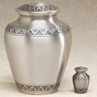 Athena Pewter Elite Brass Metal Cremation Urn