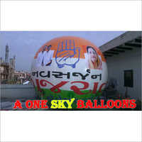 Election Advertisement Balloon