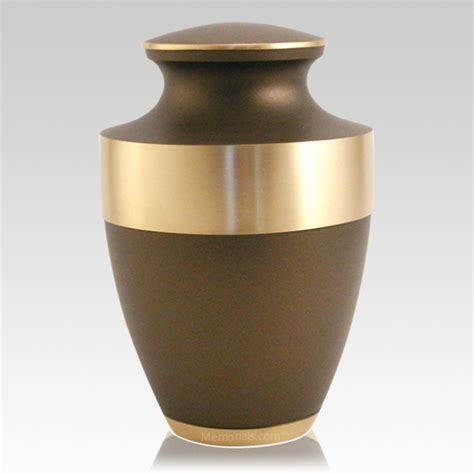 Metal Cremation in Funeral Supply Urn in Brown Colour