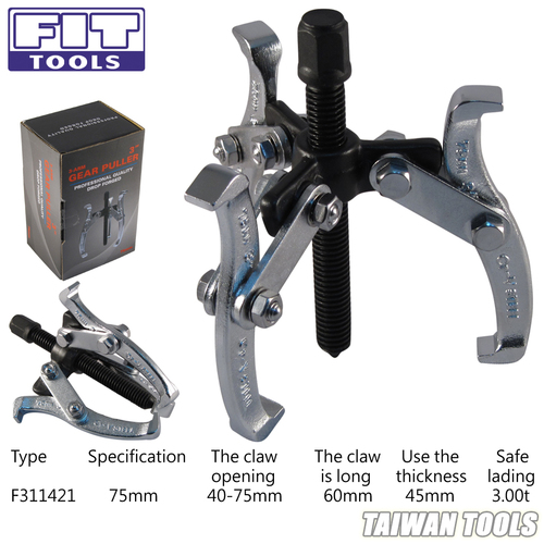 FIT TOOLS 3-Arm 3