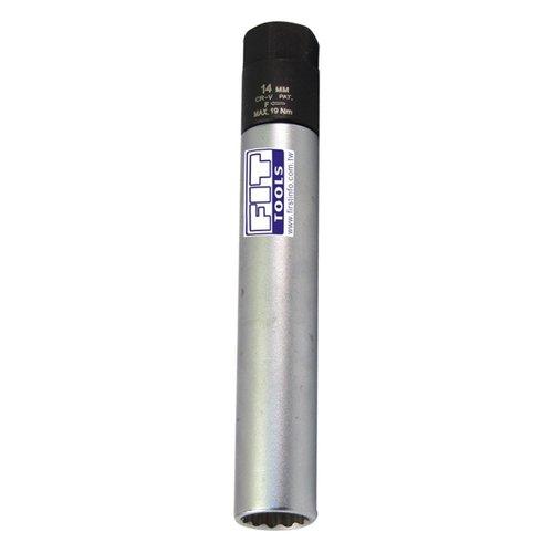 FIT TOOLS 14mm Dr. Right Force Fasten Spark Plug Torque Limited Socket