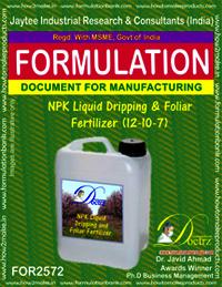 NPK Liquid Dripping & Foliar Fertilizer (12-10-7)