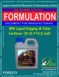 NPK Liquid Dripping & Foliar Fertilizer (12-10-7+0.5 Cao)