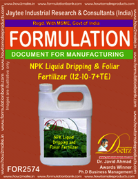 NPK Liquid Dripping & Foliar Fertilizer (12-10-7+TE)
