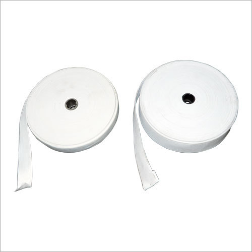White Elastic Roll