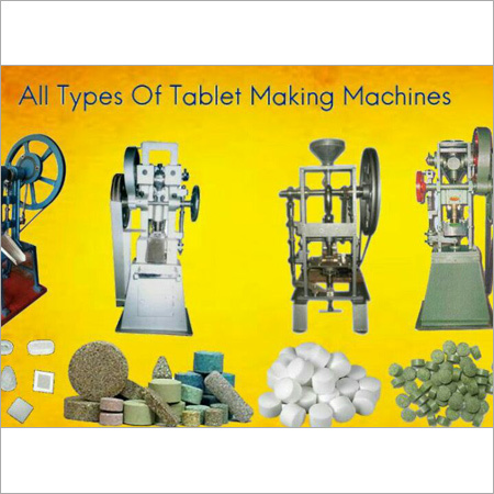 Medium Camphor Tablet Machine