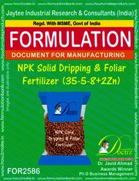 NPK Solid Dripping & Foliar Fertilizer (35-5-8+2Zn)
