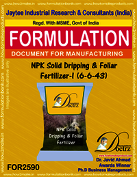NPK Solid Dripping & Foliar Fertilizer-I (6-6-43)