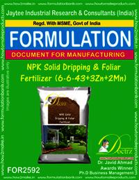 NPK Solid Dripping & Foliar Fertilizer (6-6-43+3Zn+2Mn)