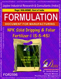 NPK Solid Dripping & Foliar Fertilizer-I (5-5-45)