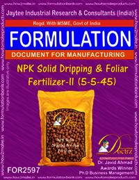 NPK Solid Dripping & Foliar Fertilizer-II (5-5-45)