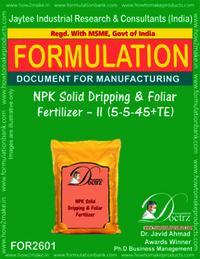 NPK Solid Dripping & Foliar Fertilizer-II (5-5-45+TE)