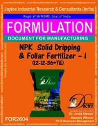 NPK Solid Dripping & Foliar Fertilizer-I (12-12-36+TE)