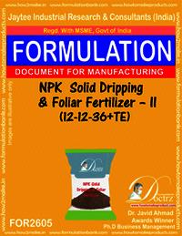 NPK Solid Dripping & Foliar Fertilizer-II (12-12-36+TE)