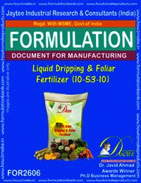 Liquid Dripping & Foliar Fertilizer (10-53-10)