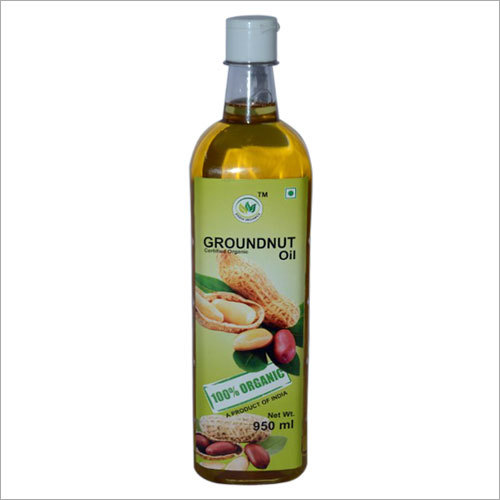 Organic Groundnut Oil (950 ml)