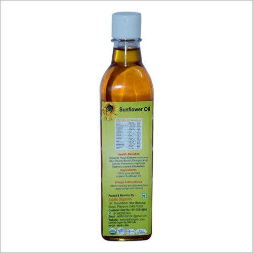 Organic Sunflower Oil (425 ml)
