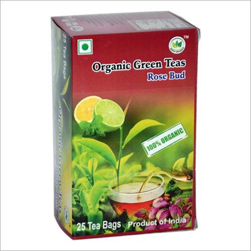 Organic Rose Bud Green Tea