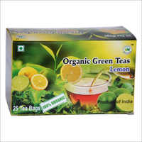 Organic Lemon Green Tea