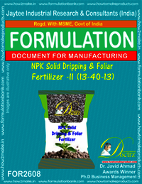 NPK Solid Dripping & Foliar Fertilizer-II (13-40-13)