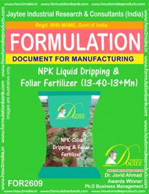 NPK Liquid Dripping & Foliar Fertilizer (13-40-13+Mn)