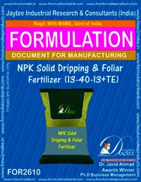 NPK Solid Dripping & Foliar Fertilizer (13-40-13+TE)