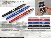 MAGIC LOGO HIGHLIGHT PEN WITH STYLUS