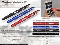 Magic Logo Highlight Pen With Stylus