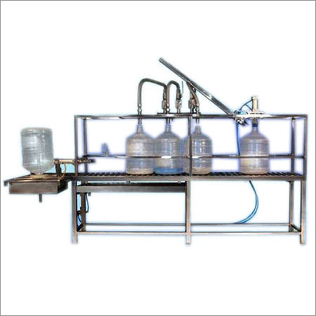 Semi Automatic Jar Filling Machines