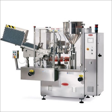 Rotary Type Tube Filling and Sealing Machine
