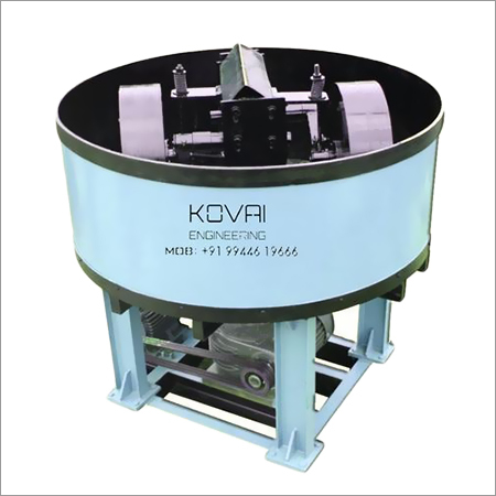 Hollow Block Pan Mixer Machine