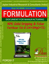 NPK Solid Dripping & Foliar Fertilizer (16-8-24+3MgO+TE)