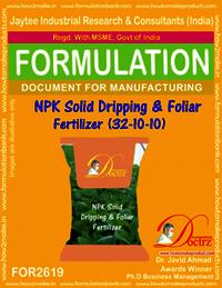 NPK Solid Dripping & Foliar Fertilizer (32-10-10)