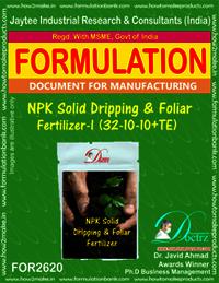 NPK solid Dripping & Foliage Fertilizer I (32-10-10+TE)