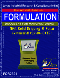 NPK solid Dripping & Foliage Fertilizer-II (32-10-10+TE)