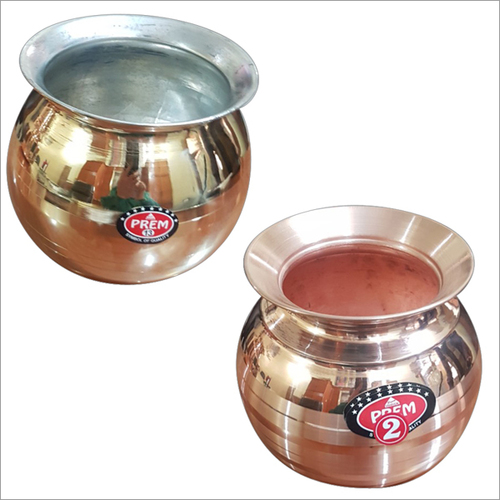 Godavari Gundu & Copper Apple Pot